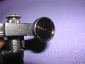 Mossberg #4 receiver sight aperture